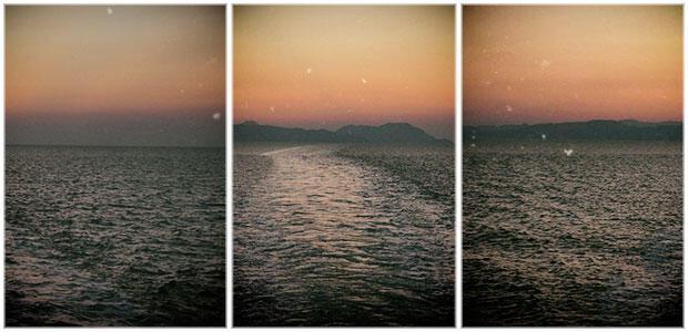 «Στην απεραντοσύνη τ' ουρανού και της θάλασσας, κάτω από τον ήλιο της Ίμβρου, τον χρυσό μήνα Ιούλιο» της Φωτεινής Τομαή