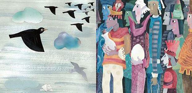 Έκθεση της Βάσως Ψαράκη στο βιβλιοπωλείο Πλειάδες