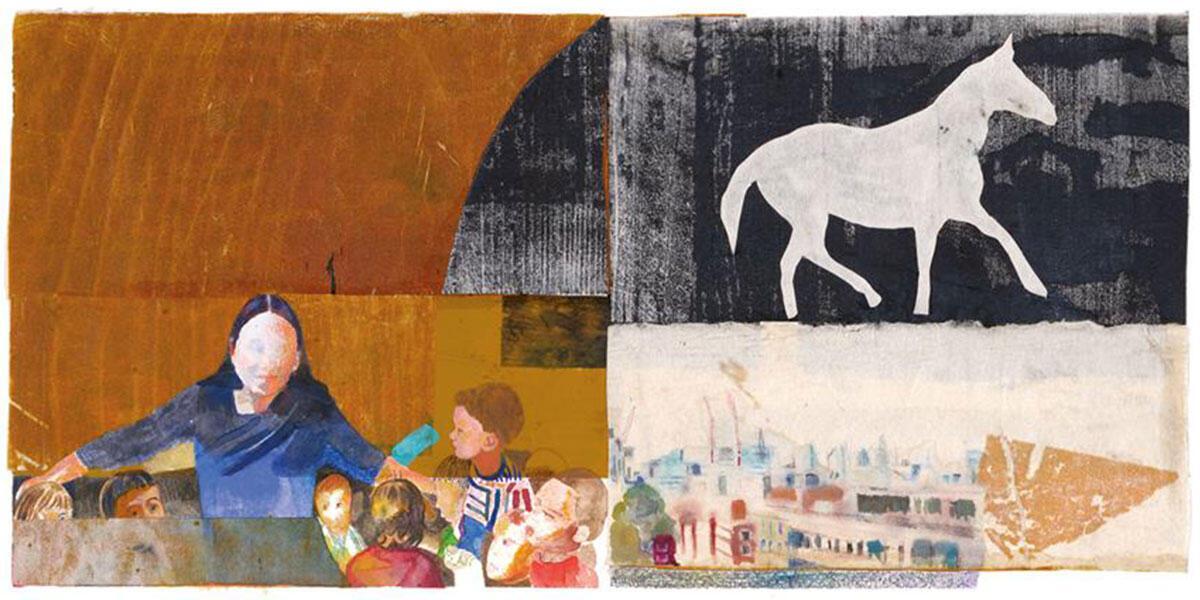 """«Αχιλλέας Ραζής: """"Μελάκ, μόνος – Οι εικόνες απ' το βιβλίο""""» στην Γκαλερί Σκουφά"""