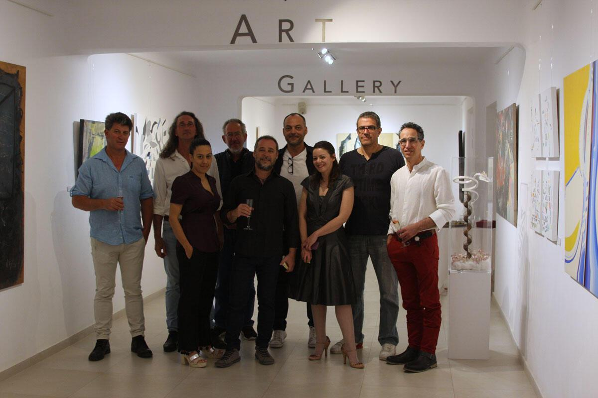 «From Athens to Santorini: Greeks artists' trips» στην Aqua Gallery