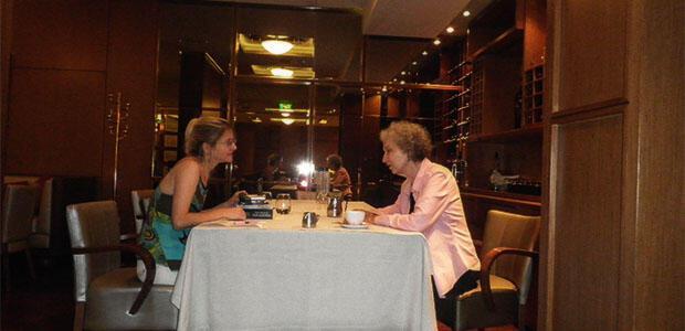 ΜΑΡΓΚΑΡΕΤ ΑΤΓΟΥΝΤ συνέντευξη στη Ράνια Μπουμπουρή