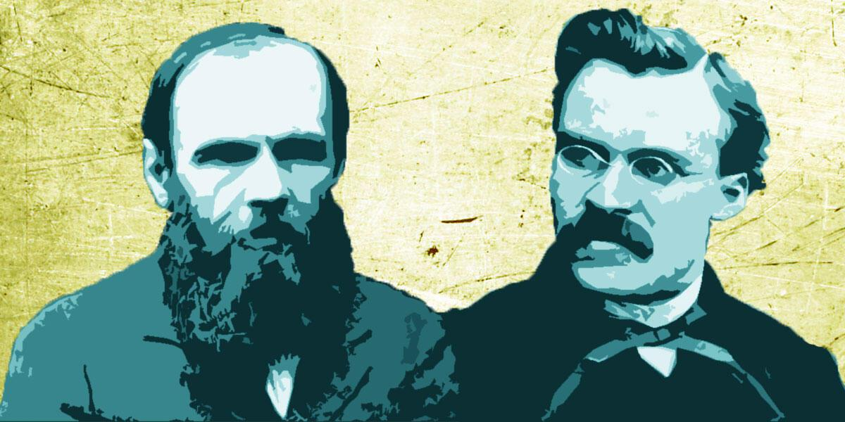 «Συγγενή πνεύματα: Ντοστογιέφσκι και Νίτσε» της Ελένης Λαδιά