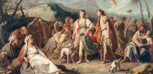 «Ένα ελληνιστικό μυθιστόρημα λαβωμένο από έρωτα» της Ελένης Λαδιά