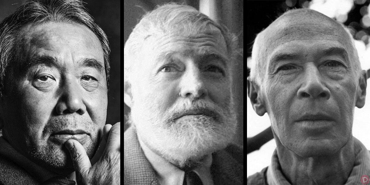 «Η ρουτίνα του συγγραφέα... (Μουρακάμι, Χέμινγουεϊ, Μίλερ)» του Πέτρου Γκάτζια