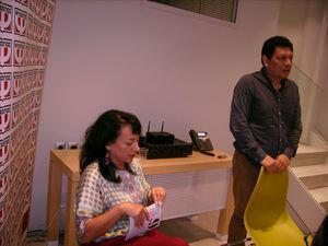 «Jorge Galan: Συνέντευξη Τύπου» της Μάριον Χωρεάνθη