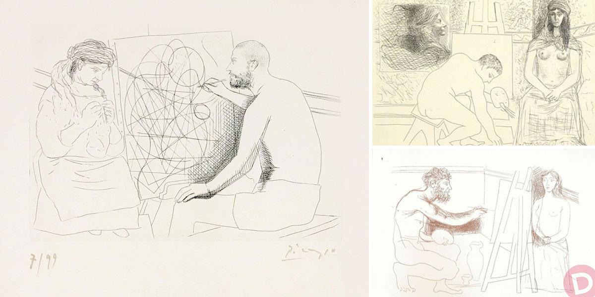 """«Για το """"Άγνωστο αριστούργημα"""" του Μπαλζάκ (1831) που εικονογράφησε ο Πικάσο (1930)» του Κώστα Ξ. Γιαννόπουλου"""