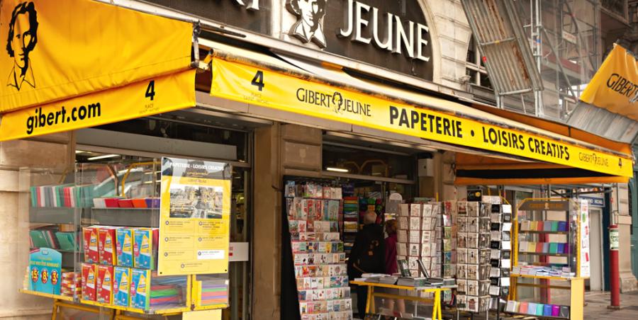 Παρίσι: Αλλαγή μοντέλου για την ιστορική αλυσίδα Gibert Jeune
